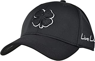 Black Clover Men's Premium Fitted #2 Cap -Black With Black Clover (Black, Large/X-Large / 7 3/8-7 3/4)