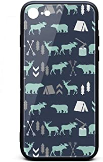 Phone Case for iPhone 6/6S Forest Bear Moose Baby Bear TPU Protective Stylish Anti-Scratch Fashionable Glossy Anti Slip Thin Shockproof Soft Case