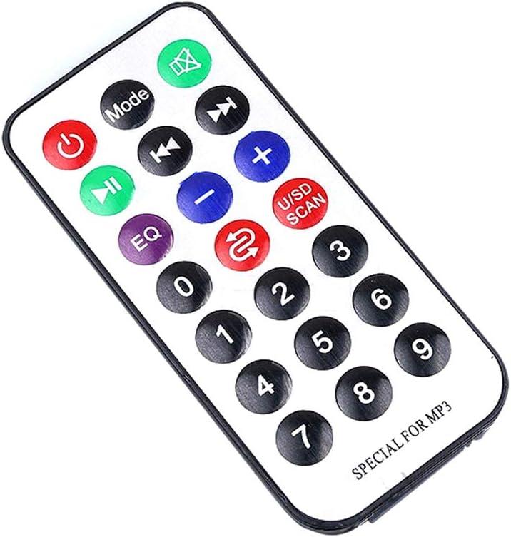 Qinghengyong USB MP3 de Tarjeta inal/ámbrica Bluetooth 12V Bordo decodificador Lector Decodificador de Audio M/ódulo Junta FM TF de Radio PCBA Accesorios del Coche 1 1