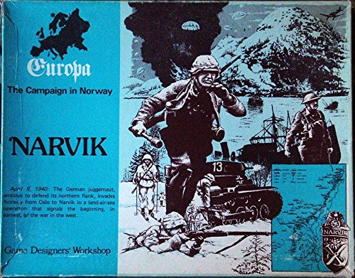 GDW: Narvik, Campaign in Norway, Board Game, 2nd Edition