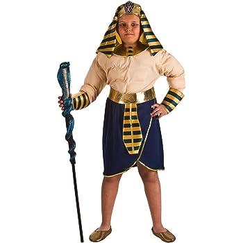 El Rey del Carnaval Disfraz de Faraón Musculoso para niño: Amazon ...