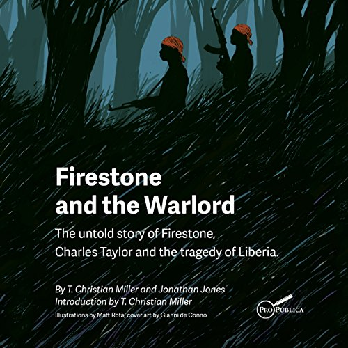 Firestone and the Warlord audiobook cover art