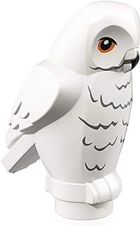 LEGO Harry Potter Minifigure Animal: White Owl (with Black Beak) Hedwig