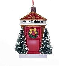 Kurt Adler Merry Christmas Door Ornament