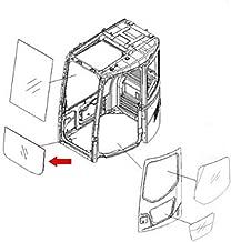 22B-54-15811 Front Lower Glass Made for Komatsu Excavator PC138USLC-2 PC228US-3