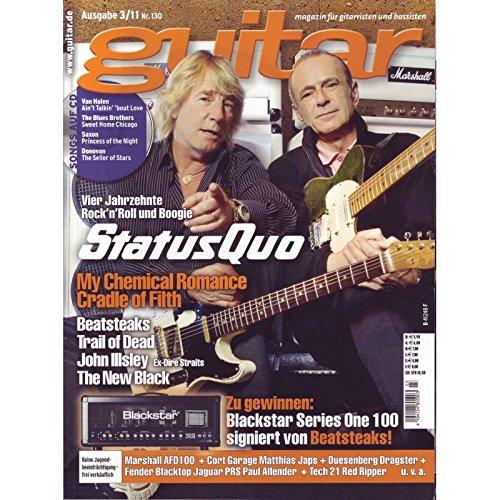 Guitar Ausgabe 03 2011 - Status Quo - mit CD - Interviews - Workshops - Playalong Songs - Test und Technik