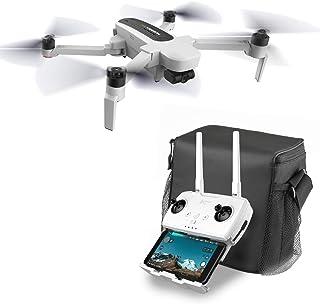Hubsan ドローン Zino 折り畳み式 4K UHDカメラ 三軸ジンバル ブラシレスモーター GPS搭載 Wifi FPV 日本語説明書 (キャリングケース・予備機体用バッテリー同梱)