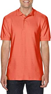 Gildan Mens Premium Cotton Sport Double Pique Polo Shirt