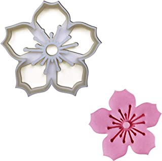 Sakura Flower cookie cutter (Cherry Blossom cookie cutter), 1 pc, Ideal gift for floral theme wedding party or garden picnic