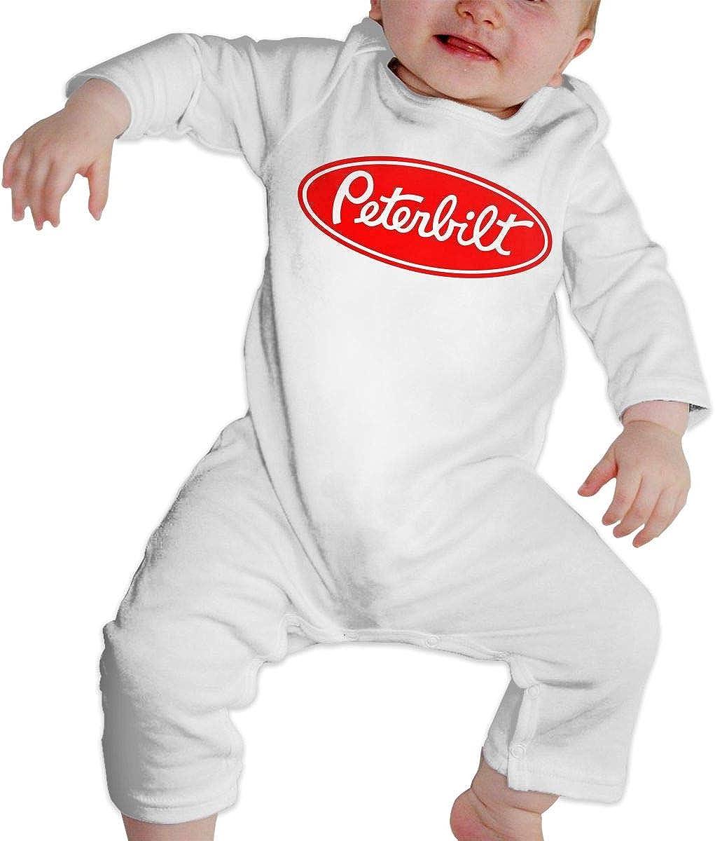 Peterbilt CustomART Baby Jumpsuit Baby Romper Long Sleeve Bodysuit