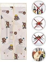 Volledige frame Seal Screen Deur, Magnetische Insect Deurscherm Huisdieren Vriendelijk, Glasvezel Mesh Gordijn met Zware D...