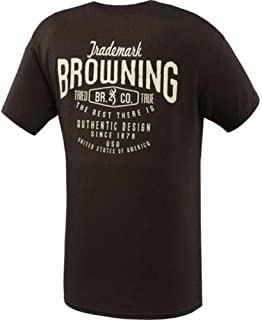 Browning - Camiseta de Manga Corta para Hombre, Color rústico