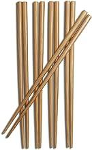 Joyce Chen 30-0041, Burnished Bamboo Chopsticks, 9-Inch, 5-Pair