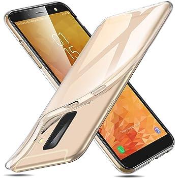ESR Funda para Samsung A6 Plus 2018, Funda Transparente Suave TPU ...
