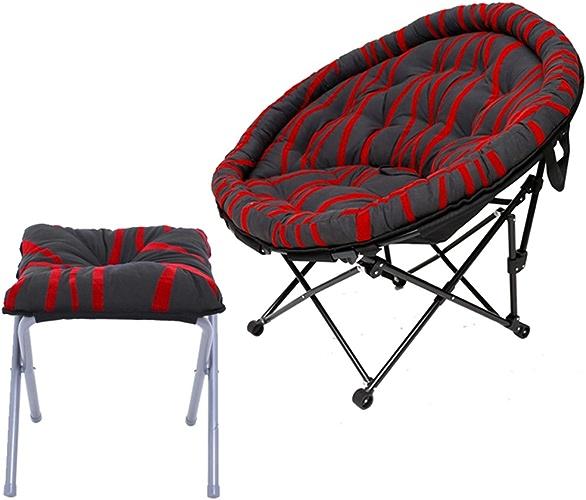 AJZXHESimple et créatif Canapé Paresseux, Chaise Longue, Chaise Longue, Chaise Pliante, (Deux pièces, Deux Couleurs)