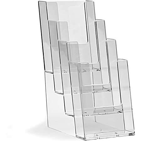 Prospektst/änder 2er-Pack taymar DIN A4 Prospekthalter Transparent