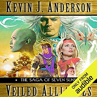 Veiled Alliances audiobook cover art
