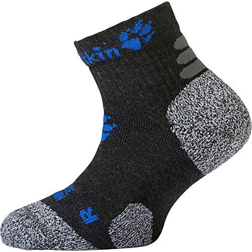 Jack Wolfskin Unisex Hiking Pro Low Cut Chaussettes Socken, (Dark Grey), (Herstellergröße: 31-33)