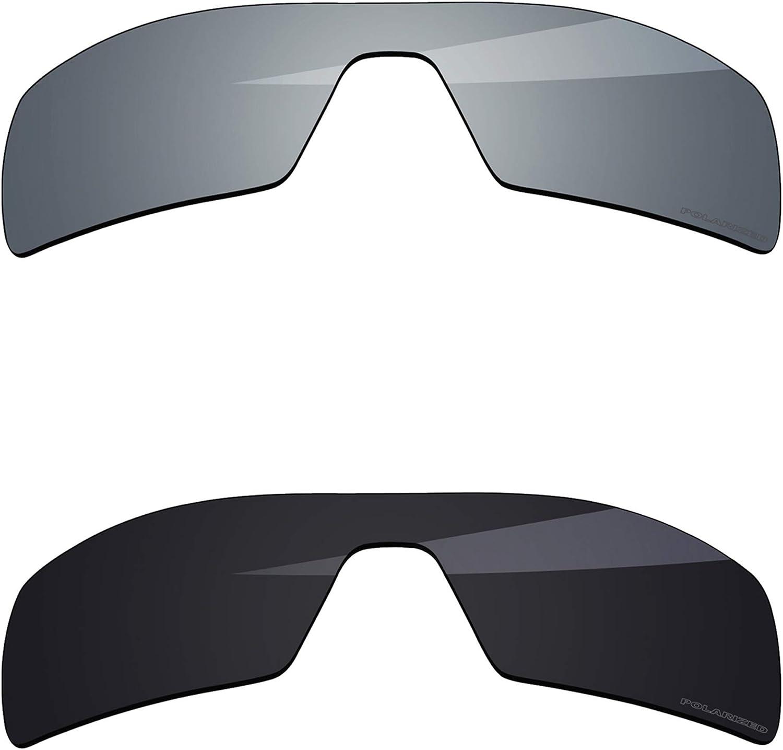 BlazerBuck Anti-salt Polarized Max 56% OFF Replacement Wholesale Lenses Oakley for Oil
