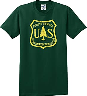 Vintage US Forest Service Distressed T-Shirt (S-5X)