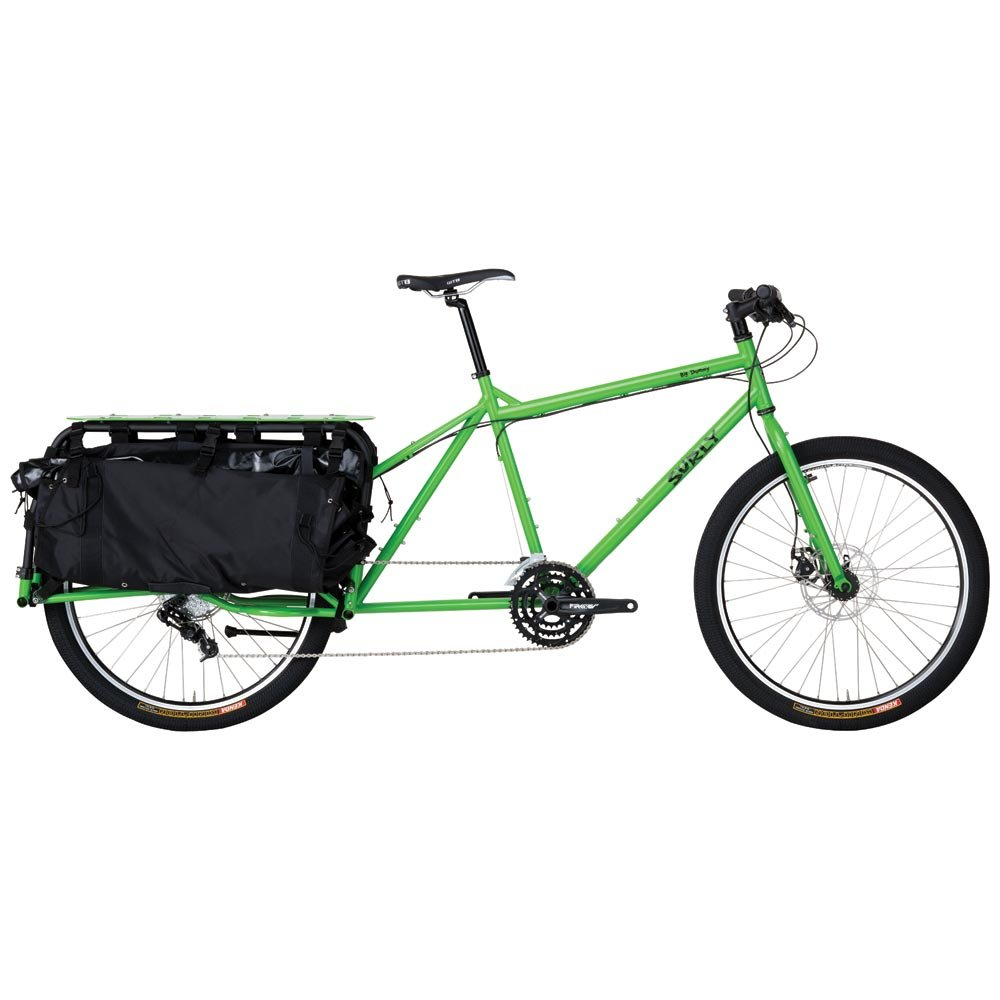 Surly Big Dummy Cargo - Bicicleta (talla XL), color verde: Amazon.es: Deportes y aire libre