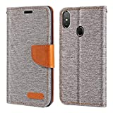 Leagoo S9 Case, Oxford Leather Wallet Case with Soft TPU