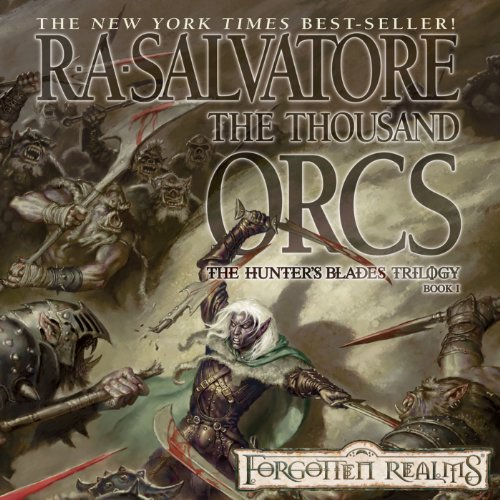 The Thousand Orcs audiobook cover art