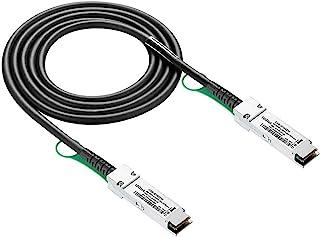 40G QSFP+ DAC ケーブル - 40GBASE-CR4 パッシブ ダイレクト アタッチ カッパー ツイナックス QSFP ケーブル シスコ QSFP-H40G-CU50CM メラキ MA-CBL-40G-50CM スーパーマイクロ オ...