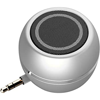 TACY Mini-Size Wireless Portable Speakers 3W Mobile Phone Plug in Speaker Line-in Speaker with 3.5mm Aux Audio Jack Plug in Clear Bass Micro USB Port Audio Dock for iPhone,Smart Phone iPad Computer