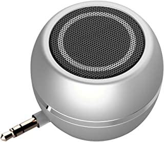 Rumfo Mini Phone Speaker Portable Wireless Plug in Speaker with 3.5mm Aux Audio Jack Rechargeable Plug and Play Clear Bass...