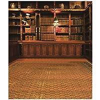 RETYLY レトロ研究図書館本棚の撮影写真の背景背景小道具3X5フィート