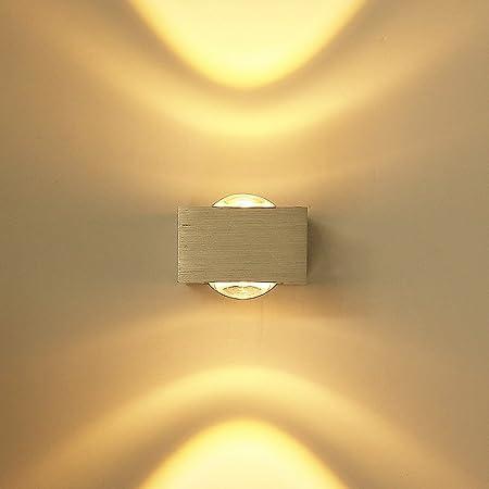 LED Wandleuchte Lampe Wand Strahler FlurLampe innen effekt Leuchte Licht up down