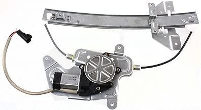 MILLION PARTS Rear Left Side Power Window Regulator with Motor fit for 1999 2000 2001 2002 2003 2004 Oldsmobile Alero & 1999-2004 Pontiac Grand Am Sedan 4-Door