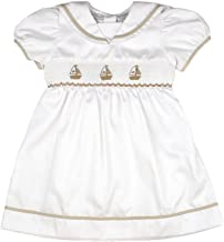 sailboat smocked dress