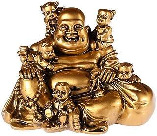 lachineuse Buda Feliz a los 5 niños