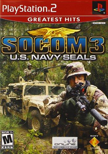 SOCOM 3 U.S. Navy Seals - PlayStation 2