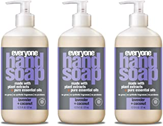 Everyone Hand Soap, Lavender and Coconut, 12.75 Fl Oz, Pack of 3