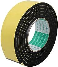 DealMux 6,6 ft lengte 45 mm x 6 mm schokbestendig afdichtband met zijdelingse afdichtingstape van EVA geel.