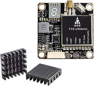 AKK FX2-ultimate 5.8GHz VTX with MMCX Support OSD Configuring via Betaflight Flight Control Board Long Range FPV Transmitter