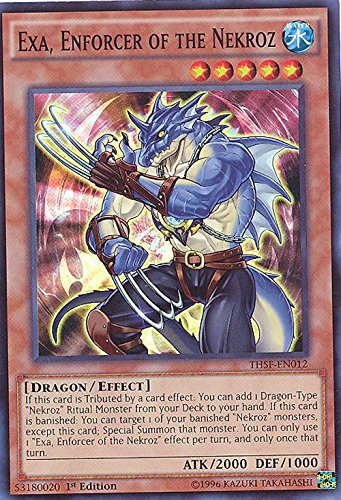 YU-GI-OH! - Exa, Enforcer of The Nekroz (THSF-EN012) - The Secret Forces - 1st Edition - Super Rare