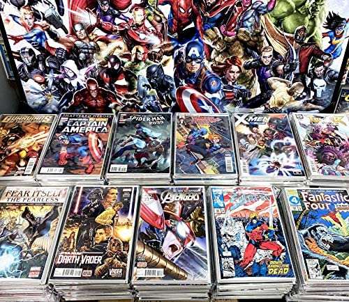 Premium Comic Books Gift Pack 24 Comics Collection MARVEL ONLY Superheroes Comics Grab Bag product image