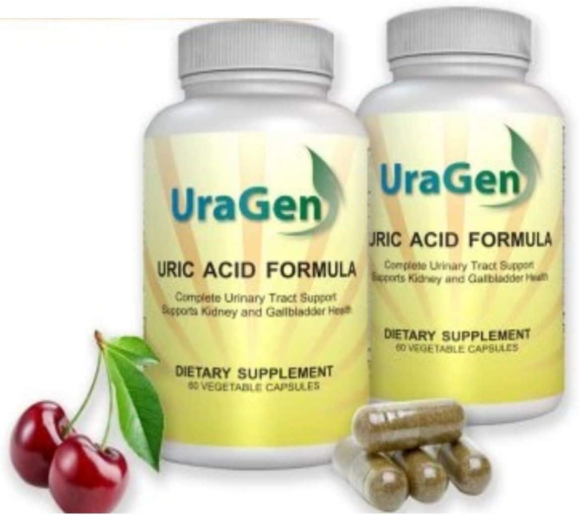 shop Uragen Total Cleanse Uric Time sale Acid Tart Capsules 60 Cher Vegetarian