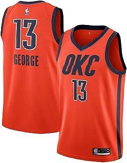 745f83d1c Majestic Athletic Paul George #13 Oklahoma City Thunder 2018-19 Swingman  Men's Jersey Orange