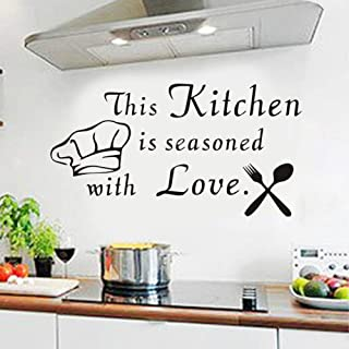 Best kitchen wall stickers Reviews