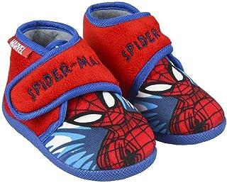 Cerdá - Zapatillas Casa Spiderman Niño - Licencia Oficial Marvel.