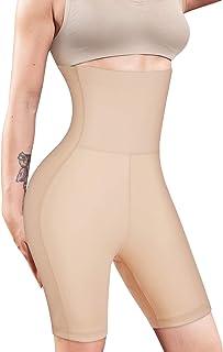 Women Waist Trainer Shapewear High Waist Tummy Control Butt Lifter Panty Thigh Slimmer