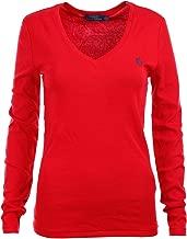Polo Ralph Lauren Womens Perfect V Neck T-Shirt