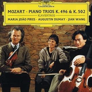 Piano Trios K 496 & 502 / Divertimento K 254 by MARIA JOAO / DUMAY,AUGUSTIN / WANG,JIAN PIRES (1997-07-01)