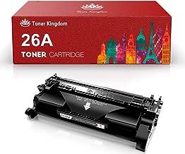 Toner Kingdom 26A CF226A Cartucho de Tóner HP Compatible/ 3,100 Páginas/Negro/para Impresora HP Laserjet Pro MFP M426dw M426fdw M426fdn HP Laserjet Pro M402dn M402n M402d M402dw