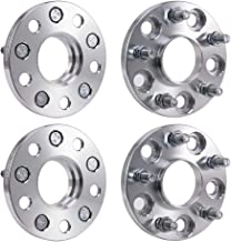 Younar 4PCS Wheel Spacers 5 Lugs 5X4.5 15mm 12X1.5 Studs Adapters for Honda Accord Acura TLX